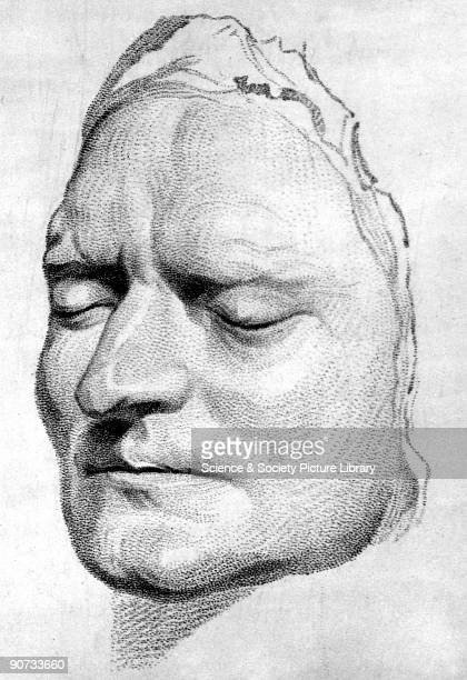 Engraving from Weld's History of the Royal Society after Roubilliac's death mask Isaac Newton graduated from Trinity College Cambridge in 1665...