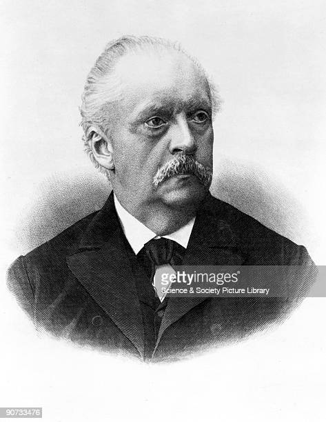 Engraving Helmholtz studied a very broad range of subjects including physics physiology and mathematics He made discoveries in electromagnetic...