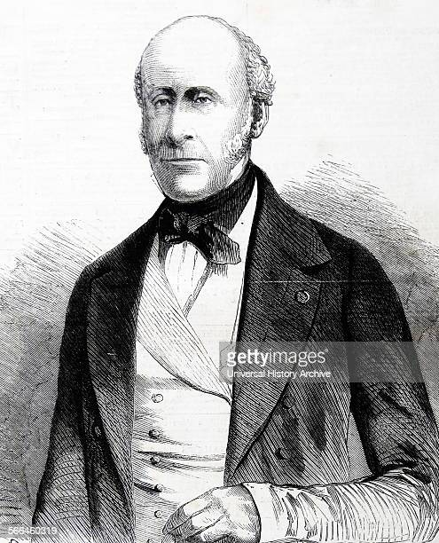 Engraving of Charles Joseph comte de Flahaut a French general and statesman Dated 1860