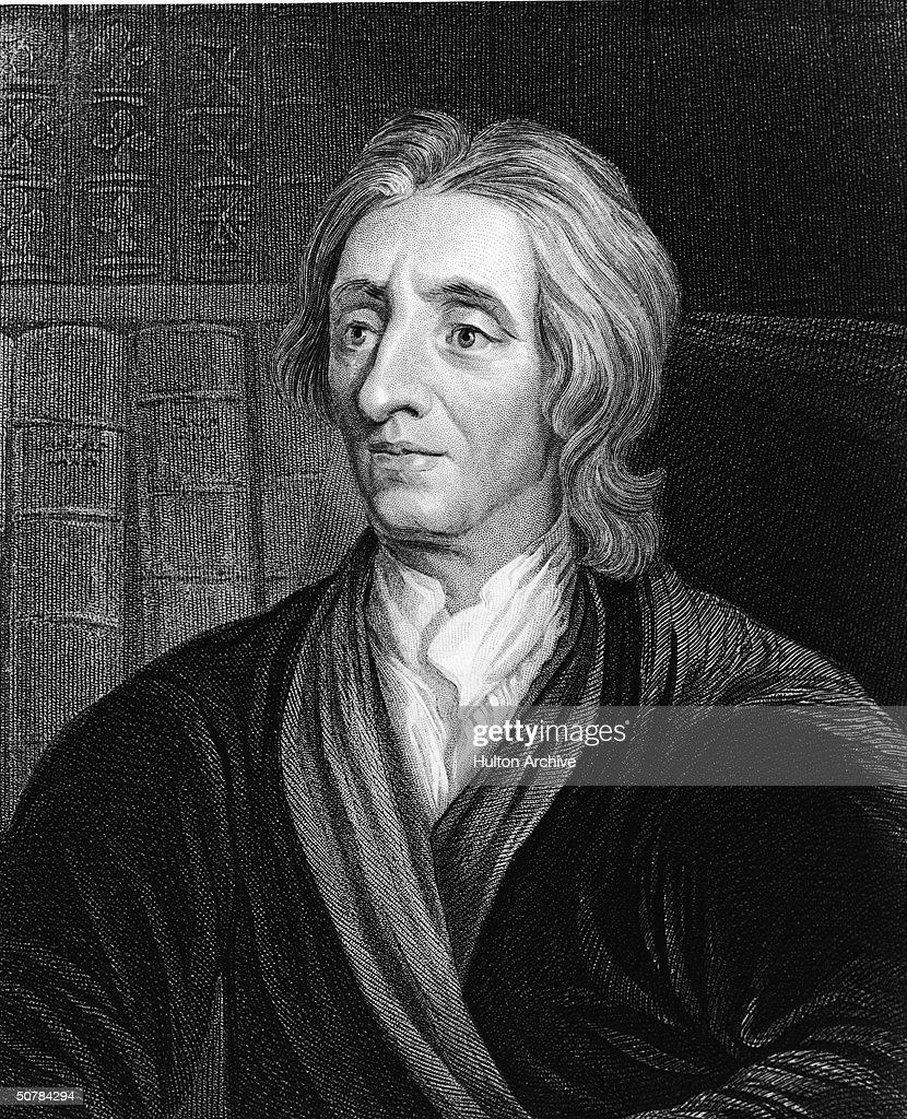Engraving Of Philosopher John Locke : News Photo