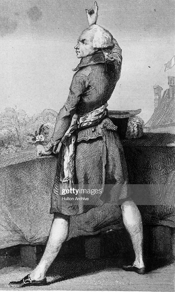 French Revolution Leader Robespierre : News Photo