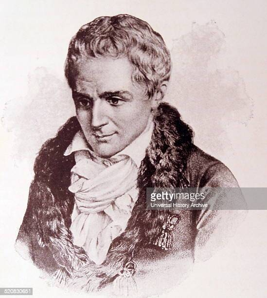 Engraving of JeanJacques Rousseau Genevan philosopher writer and composer Dated 18th Century