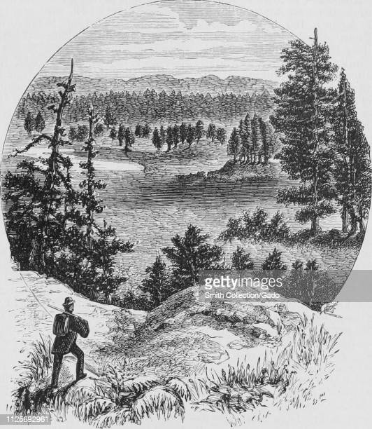 Engraving of the Agnes Park in the Black Hills South Dakota from the book The Pacific tourist by Henry T Williams 1878 Courtesy Internet Archive