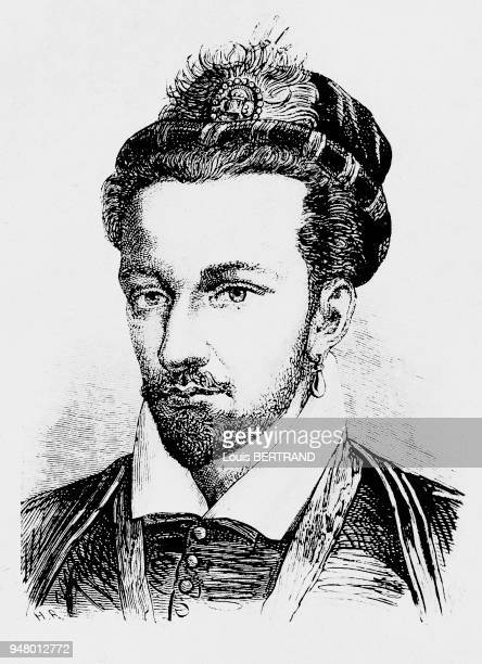 Engraving of the King of France HENRI III First elected King of Poland he took over the French throne upon the death of his brother CHARLES IX Having...
