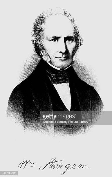 Engraving of William Sturgeon who produced an improved electromagnet in 1821 This had a soft iron bar that was coated with shellac varnish to provide...