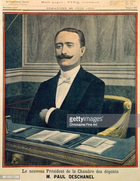 Engraving Portrait of Paul Deschanel President of the Chamber of Deputies 26 June 1898 1898 Private Collection