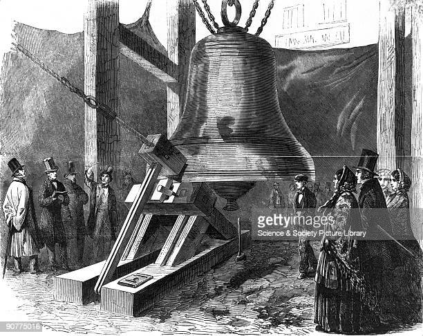 Engraving taken from the �Illustrated London News� The nickname �Big Ben� possibly after Sir Benjamin Hall an MP and the Commissioner of Public Works...
