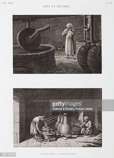 Engravings by Delaunay after Conte from �Description de l'Egypte ou Recueil des observations et des recherches qui ont ete faites en Egypte pendant...