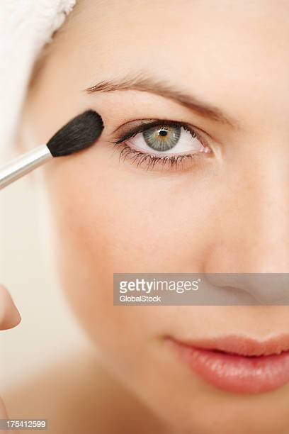 enhance your beauty - eyelid stock photos and pictures