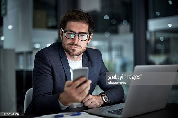 enhancing his entrepreneurial ambition with the right tools - man in office stock photos and pictures