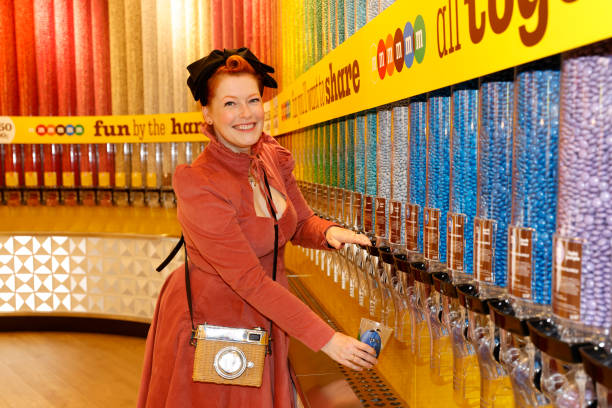 DEU: M&M's Store Opening In Berlin