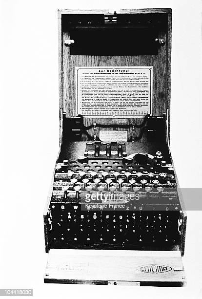 Enigma is a machine which encrypts and decrypts used by German Armies in the early 1930's until the end of World War II