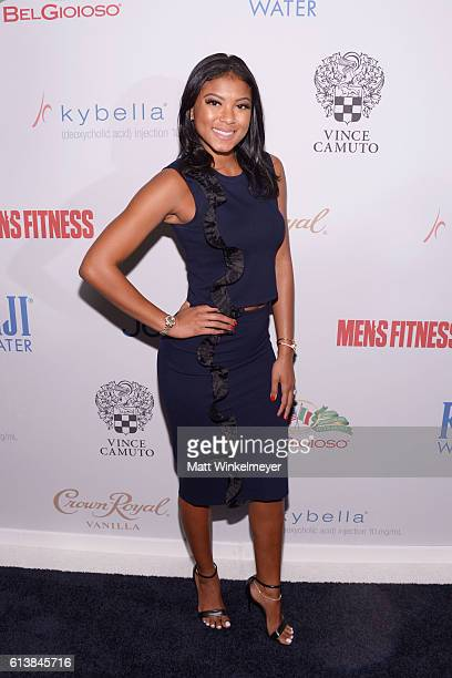 Eniko Parrish attends the Men's Fitness Game Changers Celebration at Sunset Tower Hotel on October 10 2016 in West Hollywood California