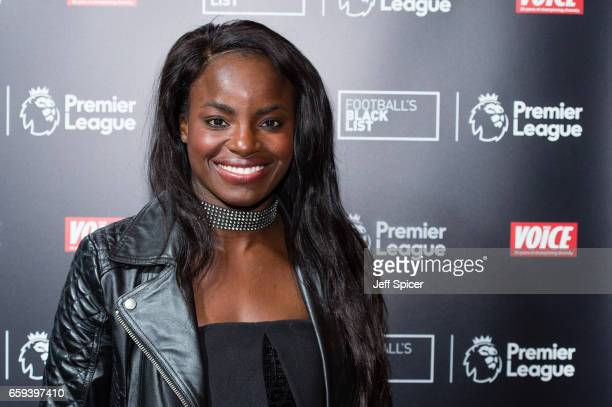 Eniola Aluko attends the Football Black List 2016 at Village Underground on March 28 2017 in London England