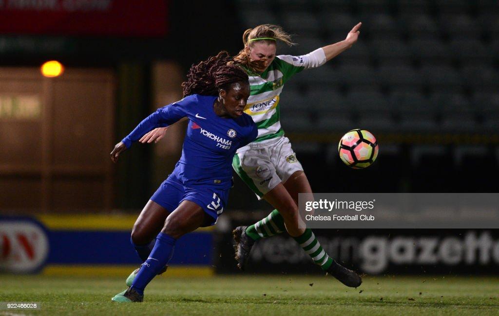 Yeovil Town Ladies v Chelsea Ladies: WSL : Nachrichtenfoto