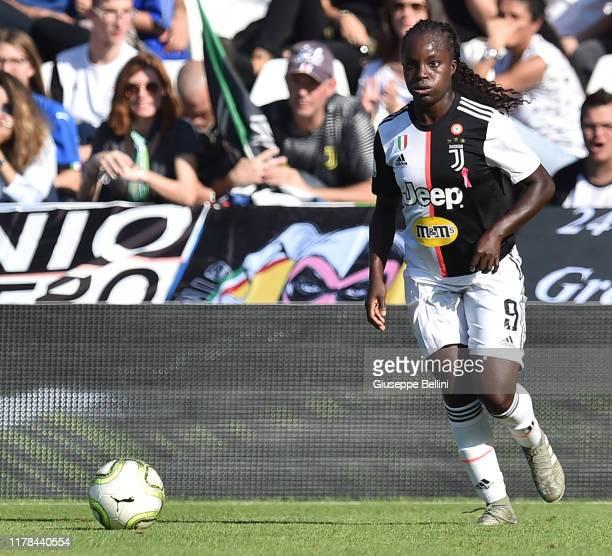Eniola Aluko of Juventus Women in action during the Italian Supercup match between Juventus Women and Fiorentina Women at Orogel Stadium Dino Manuzzi...