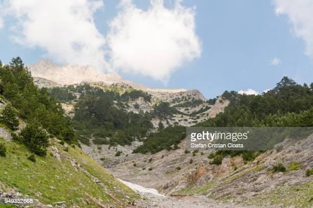 Enipeas gorge Mount Olympus Greece