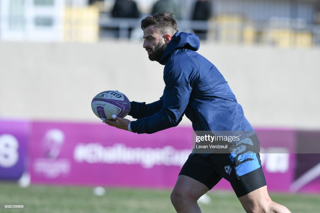 Enisey-STM vs Newcastle Falcons - European Rugby Challenge Cup