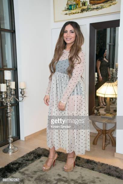 Enissa Amani attends Hofit Golan's Birthday celebrations on June 03, 2017 in London, England.