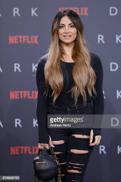 Enissa Amani attends the premiere of the first German Netflix series 'Dark' at Zoo Palast on November 20 2017 in Berlin Germany