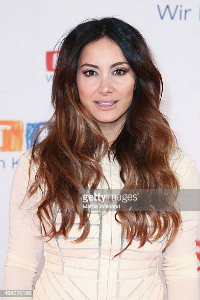 Enissa Amani attends the RTL Telethon 2015 on November 19, 2015 in Cologne, Germany. This year marks the 20th anniversary of the RTL Telethon....