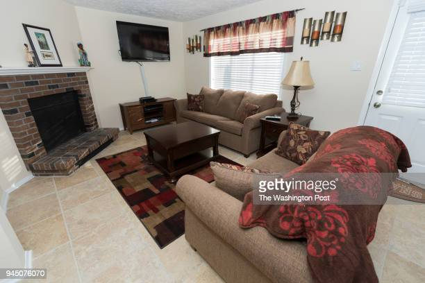 Enjoli Ramsey has her room photographed for a redesign on Saturday January 27 2018 in Fairfax VA