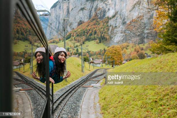 enjoy and happiness - switzerland stock pictures, royalty-free photos & images