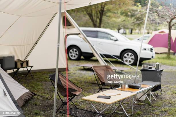 enjoy camping with a car - land vehicle stock pictures, royalty-free photos & images