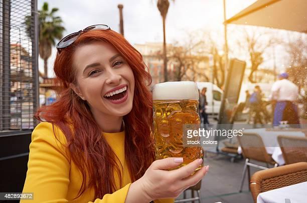 Profitez d'un verre de bière
