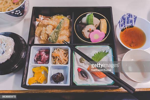 Enjoy Japan meal, lovely traditional food
