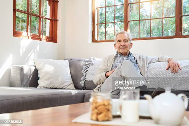 i enjoy sitting around doing nothing in my retirement - tidy room stock pictures, royalty-free photos & images