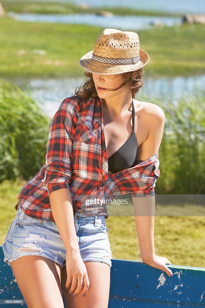 Disfrute del verano : Foto de stock