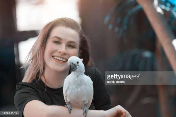 Genießen Sie tropische Vögel