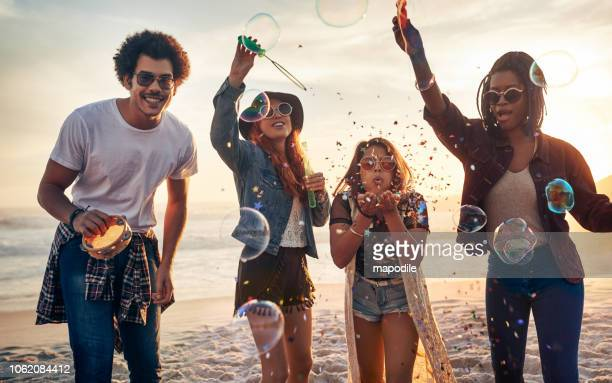 enjoying a carefree summer - femininity stock pictures, royalty-free photos & images