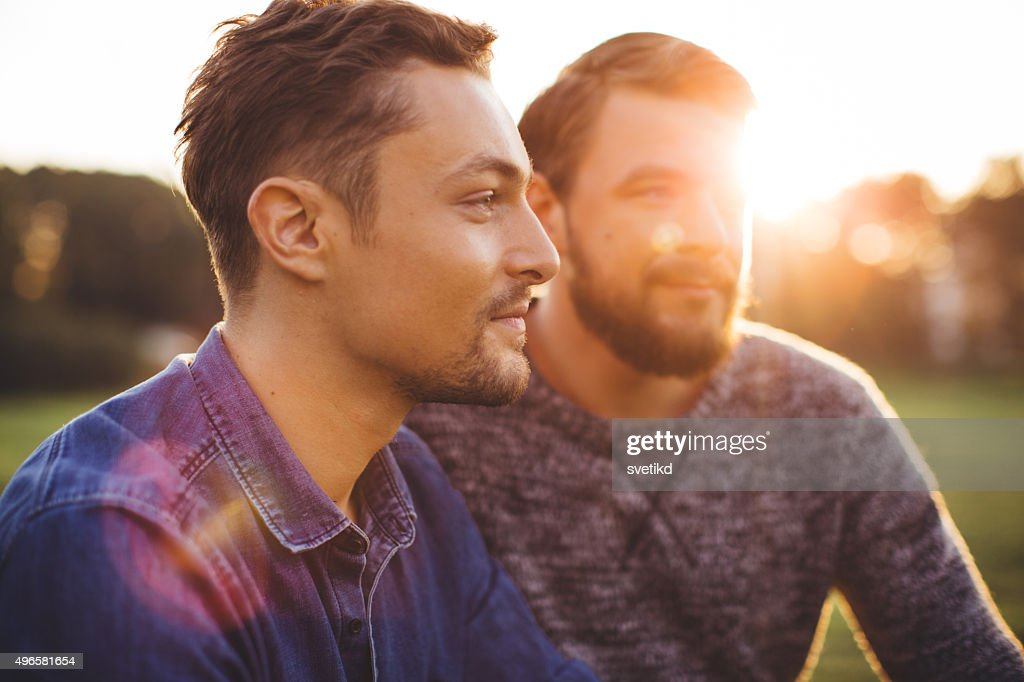 Enjoying a day together. : Stock Photo