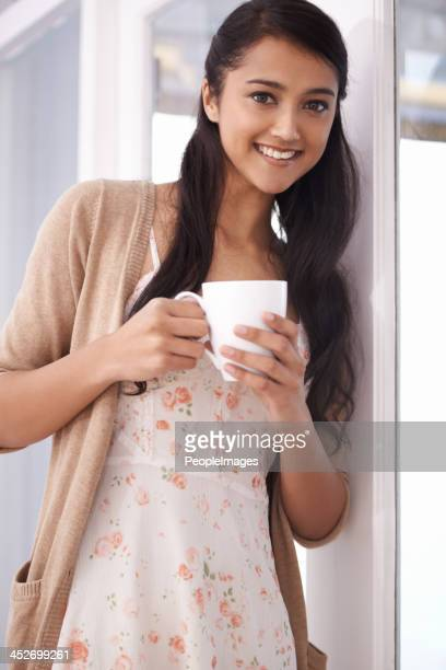enjoying a fresh brew - peopleimages stock pictures, royalty-free photos & images