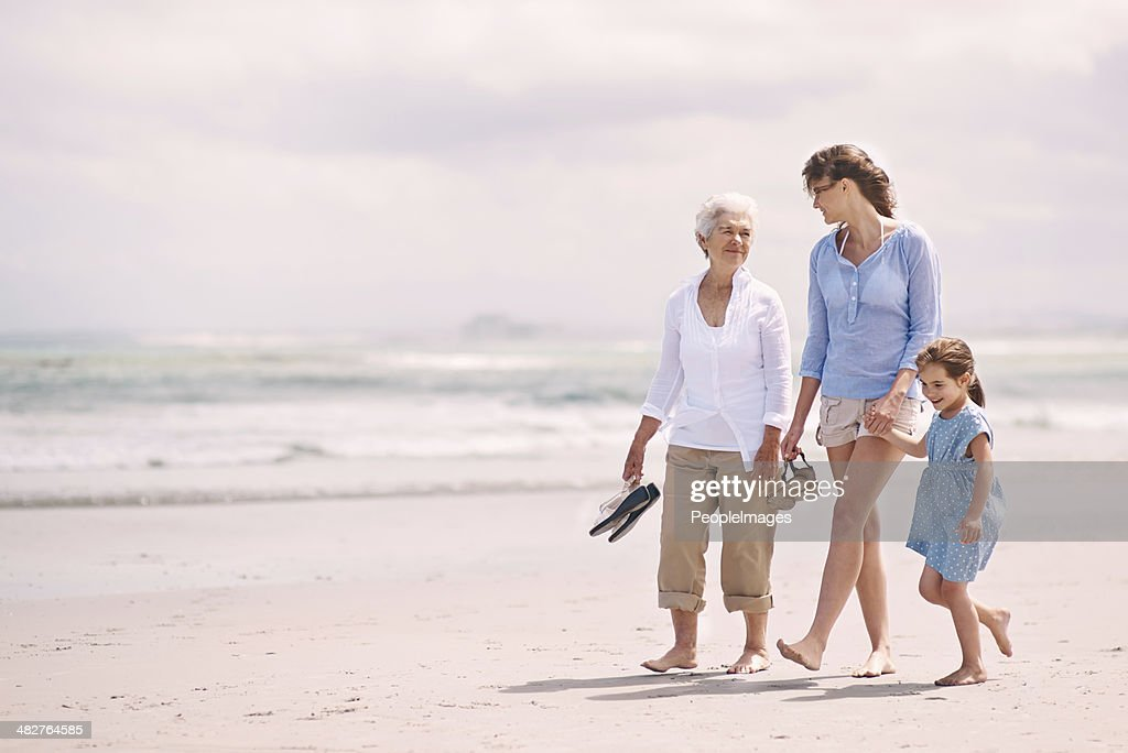 Enjoying a girl's day out : Stock Photo