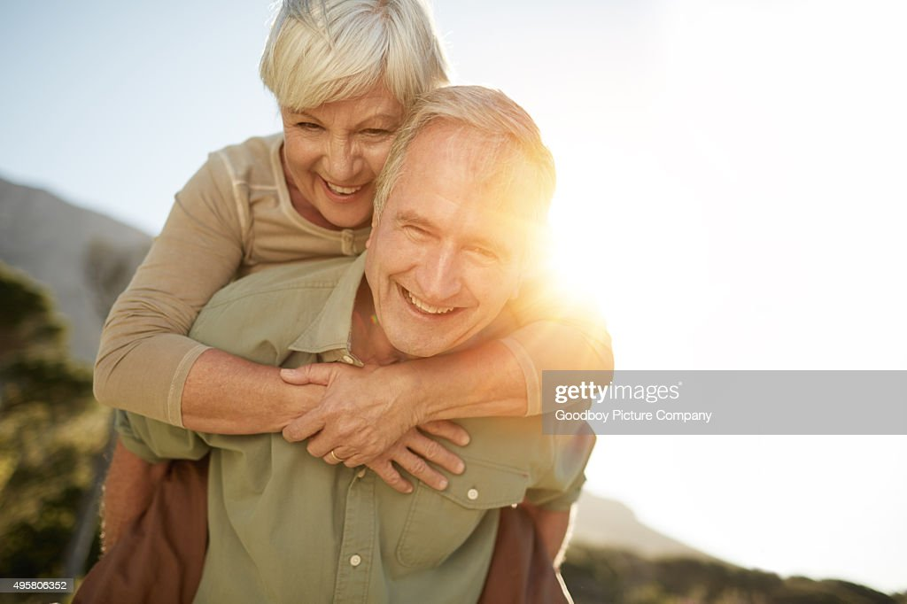 Enjoying a happy and healthy lifestyle : Stock Photo