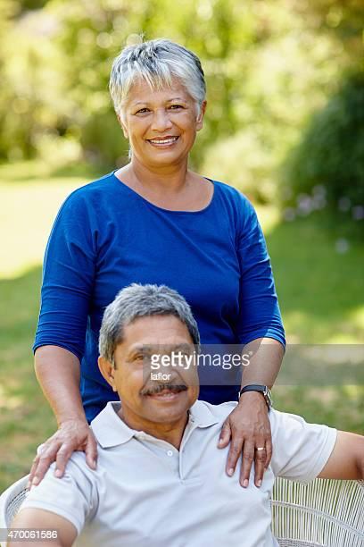 Enjoying a happy retirement together