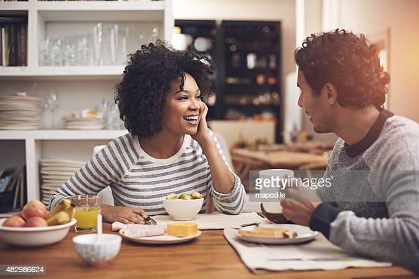 Genießen Sie ein entspanntes Frühstück zusammen