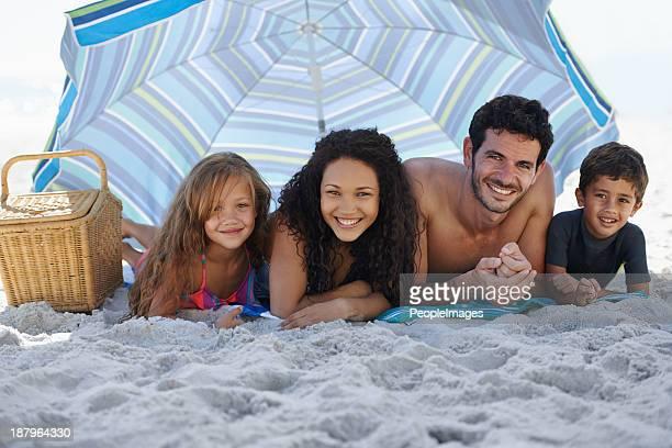 Genießen Sie einen entspannenden Familienurlaub