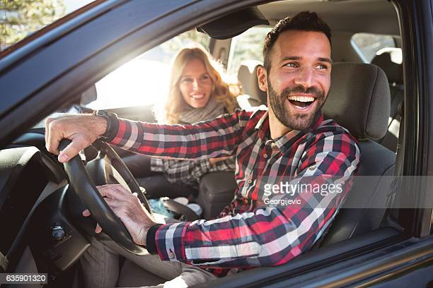 enjoying a road trip - driving stock photos and pictures