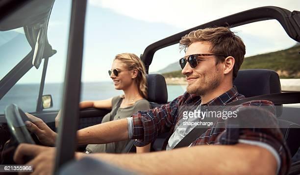 Enjoying a trip together
