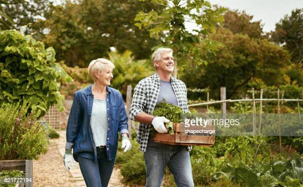 Enjoying an active lifestyle where gardening plays a big role