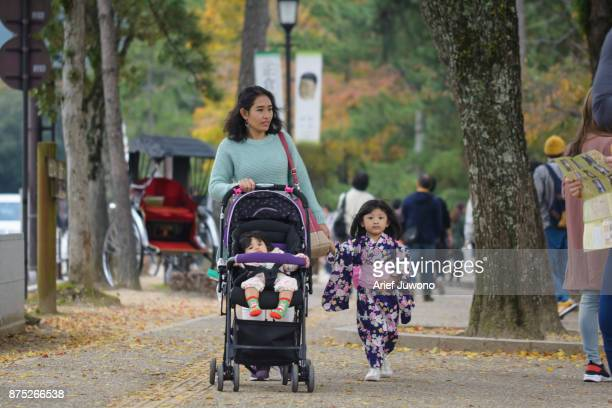 Enjoying Autumn with Family