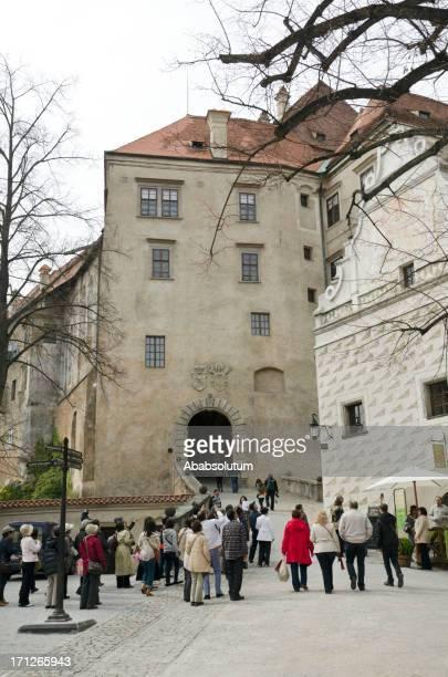 Enjoying Beauties of Česky Krumlov Castle Europe
