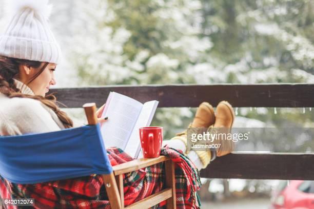 Bénéficiant de belle journée d'hiver