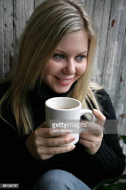 enjoying coffee - mocha stock photos and pictures