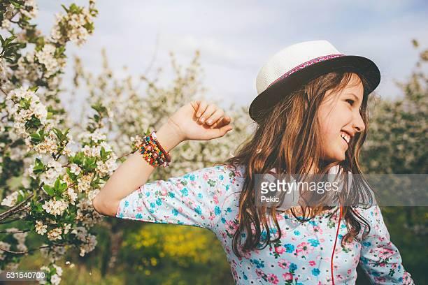 Desfrutar de bela cheiro de Primavera!
