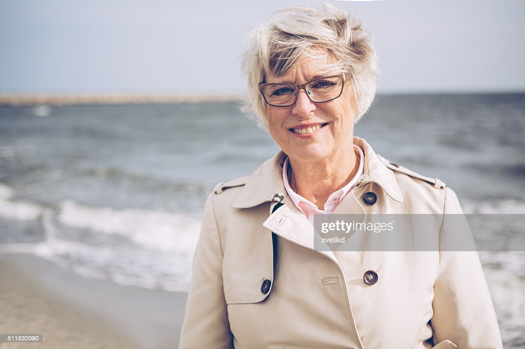 Enjoying in retirement : Stock Photo